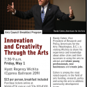 "Randy Cohen ""Innovation and Creativity Through the Arts"" Breakfast"
