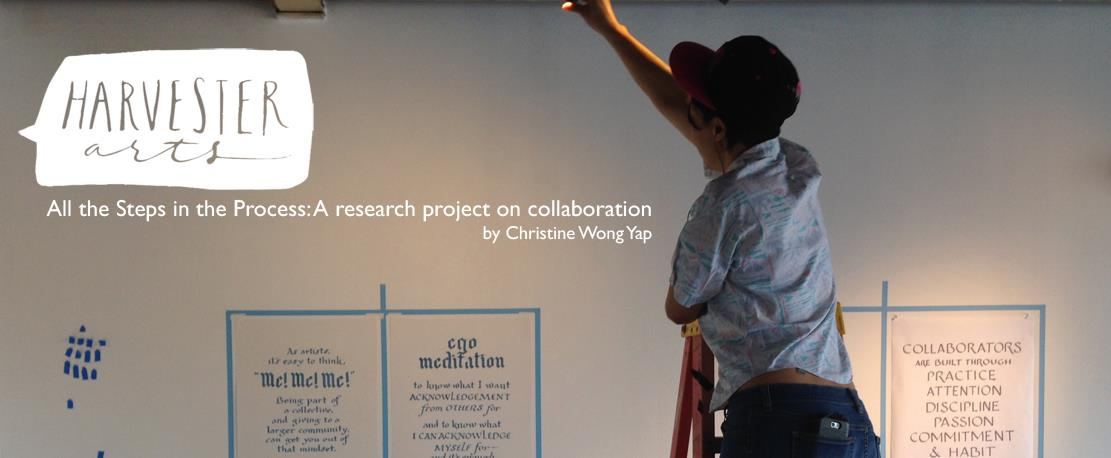 All the Steps in the Process: A Research Project on Collaboration