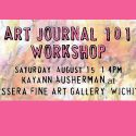 Art Journal 101 Workshop at Tessera Fine Art Gallery