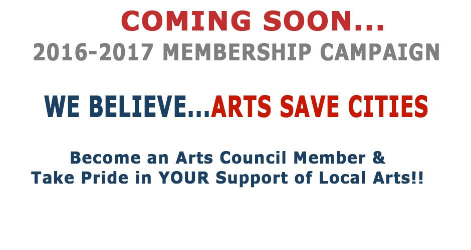 Coming Soon 2016-2017 Membership Campaign