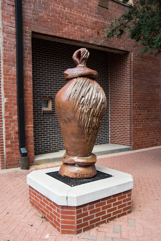 Glenn Wolffs Evocative Sculpture >> Test Wichitaarts Com Part Of The Arts Council Theater Dance