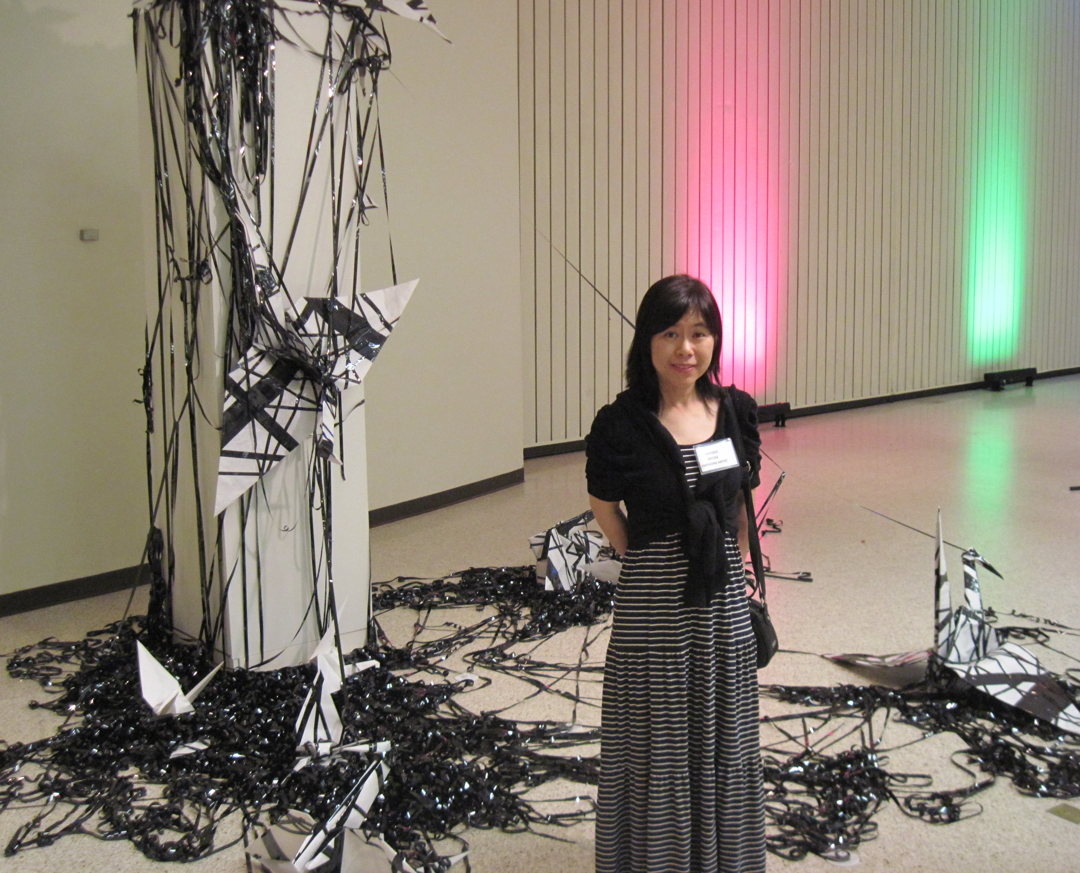 Artist Chiyoko Myos